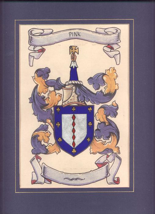 Pink Coat of Arms - 2